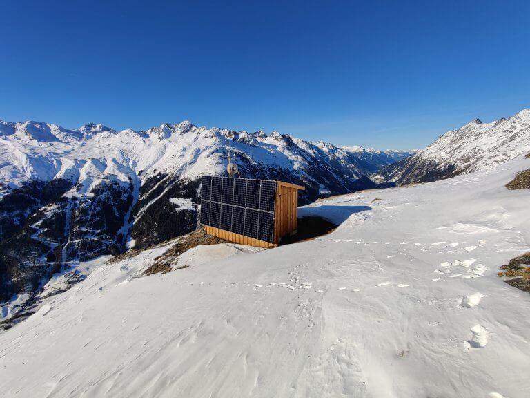 Bergbahnen Soelden Funk Schnee
