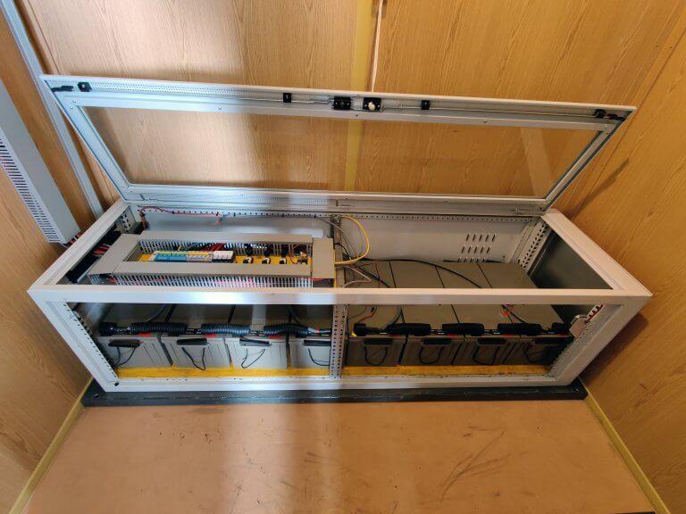 Bergbahnen Soelden Funk Batteriebank