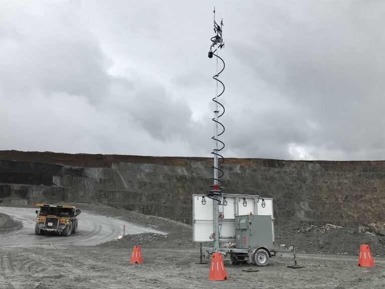 EFOY Pro Trailer Bergbau