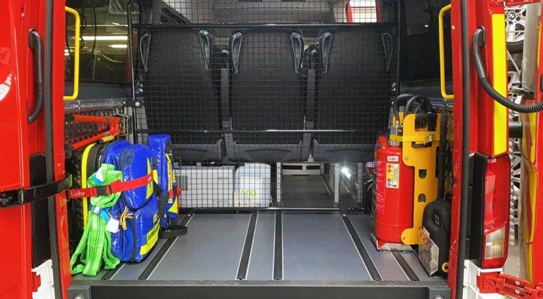 FFW Brunnthal Ausbau Fahrzeug
