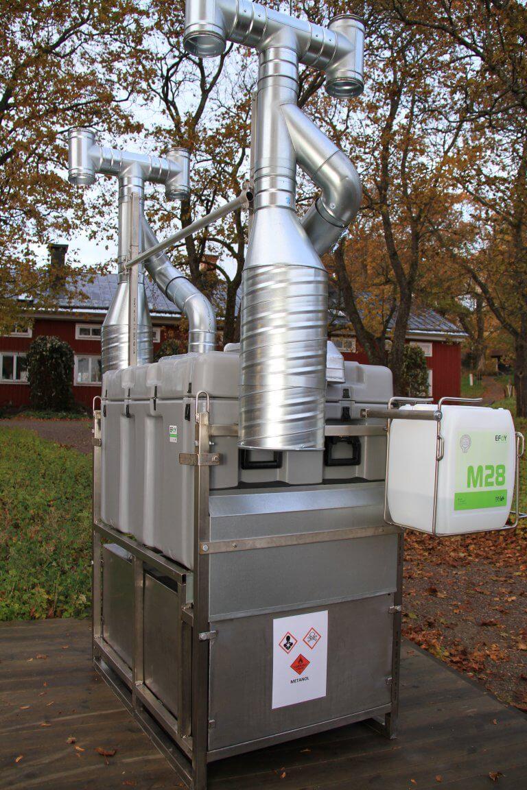 Brennstoffzelle Forschungsprojekt Lund Schweden Icos Awilco 2