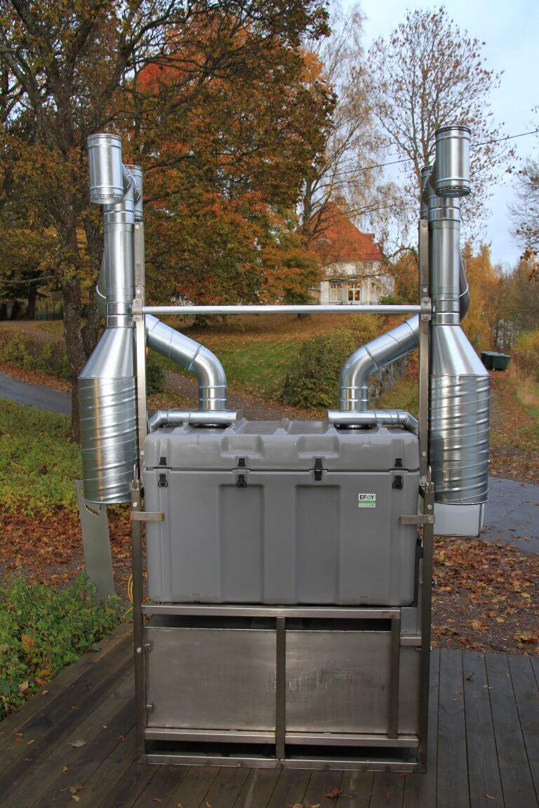 Brennstoffzelle Forschungsprojekt Lund Schweden Icos Awilco