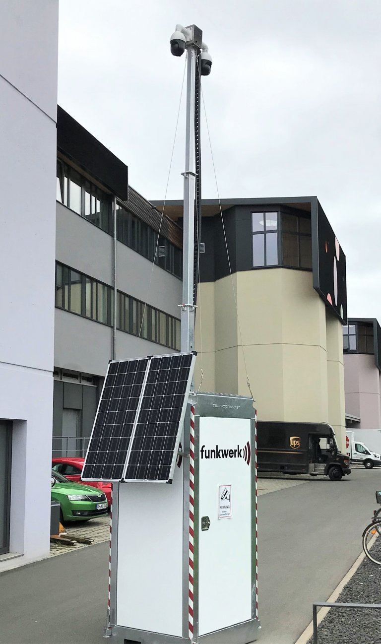 Funkwerk Mobile Kamerastation Efoy Tower