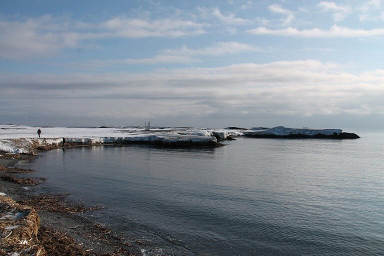 Ik Foundation Fcs Antarktis Wasser Eis Landschaft