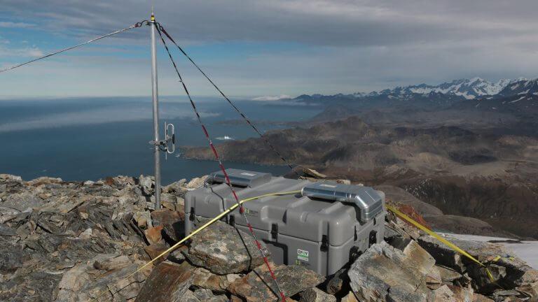 Landschaft Berge Steine Meer Efoy Energybox