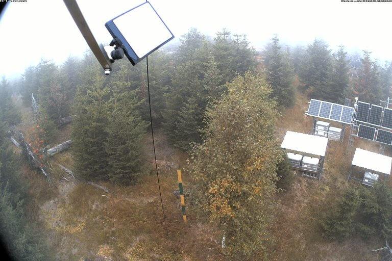 Messstation Bayerischer Wald Kit Institut Meterologie Klimaforschung Karlsruhe Webcam