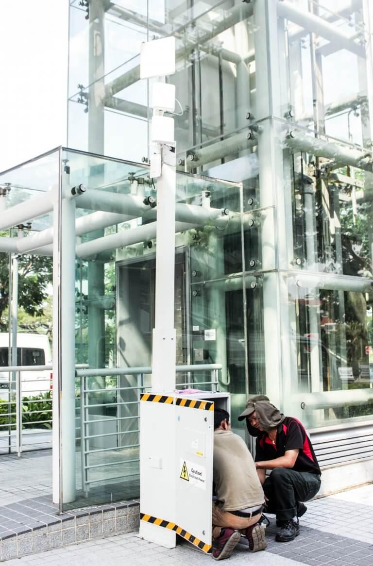 Oneberry Technologies Videoueberwachung Singapur 3
