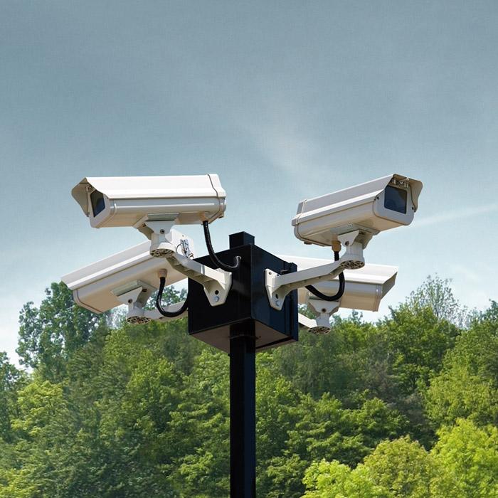 Sicherheit Ueberwachung Kamera Natur