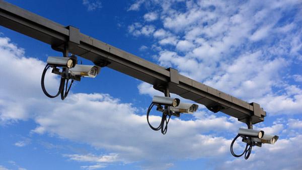 Sicherheit Ueberwachung Radar Kameras