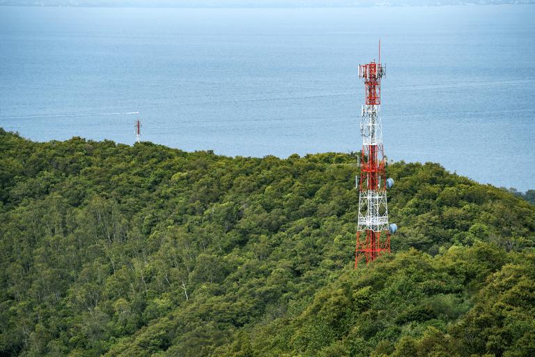 Telekommunikation Backup Meer Wald