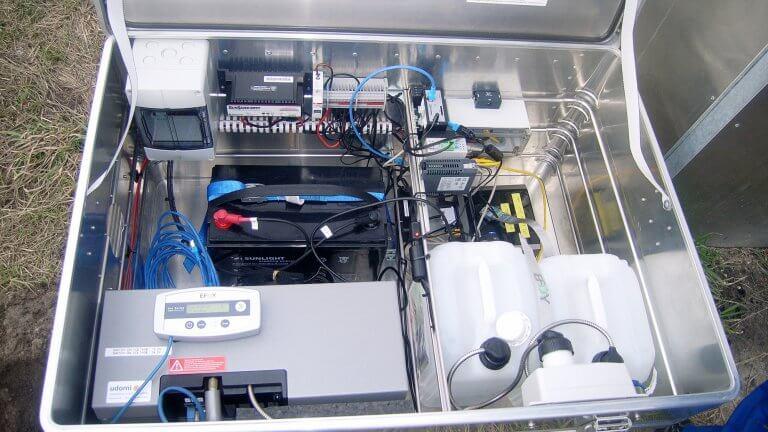 Vattenfall Europe Mining Stromversorgung Monitoringsystem 16 9