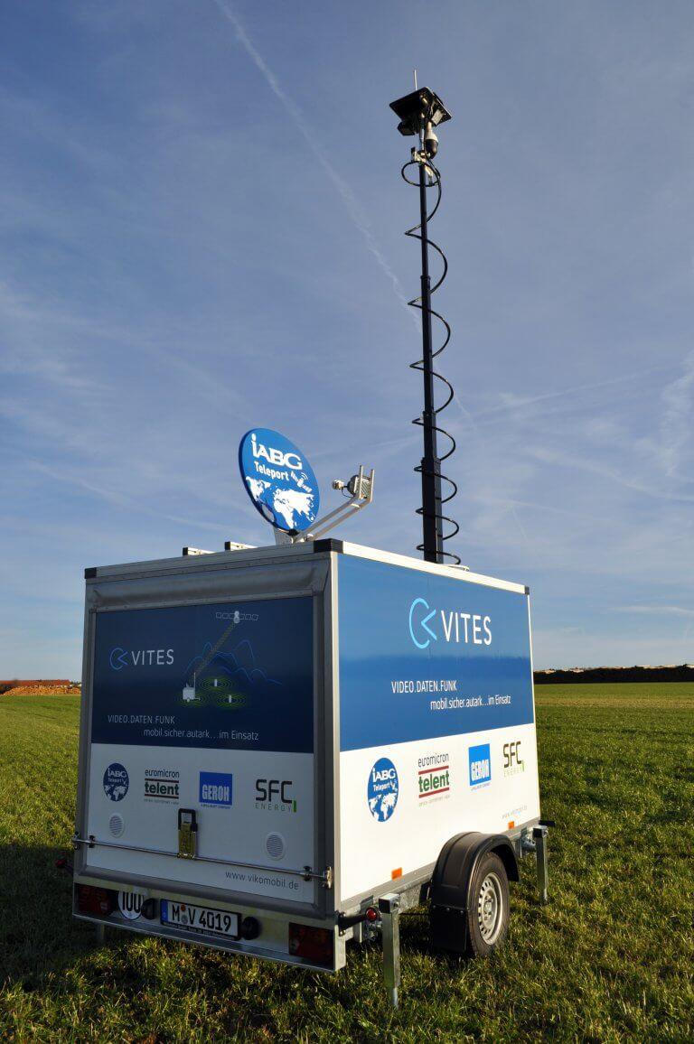 Vikomobil Trailer Vites Mobile überwachung