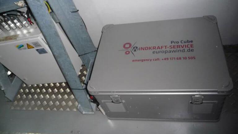 Windkraft Service Stromversorgung