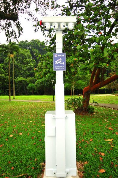 überwachung Kamera Grün Sicherheit