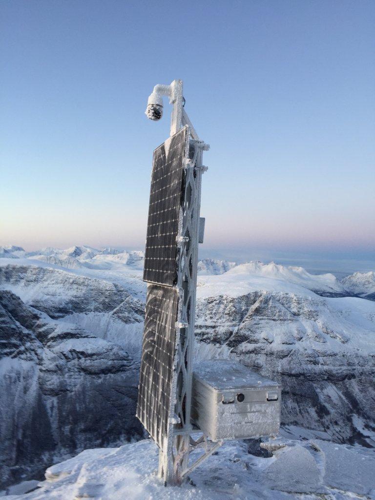 NVE Efoy Pro Winter Schnee Erdrutsch