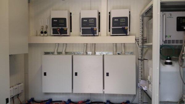 Off-grid power for a radio base station - EFOY Pro