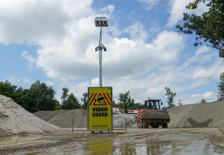 Baustellenüberwachung Video Guard