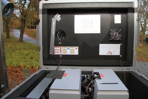 Brennstoffzelle Forschungsprojekt Lund Schweden Icos Awilco 7