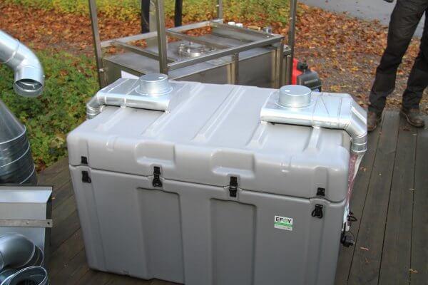 Brennstoffzelle Forschungsprojekt Lund Schweden Icos Awilco 8