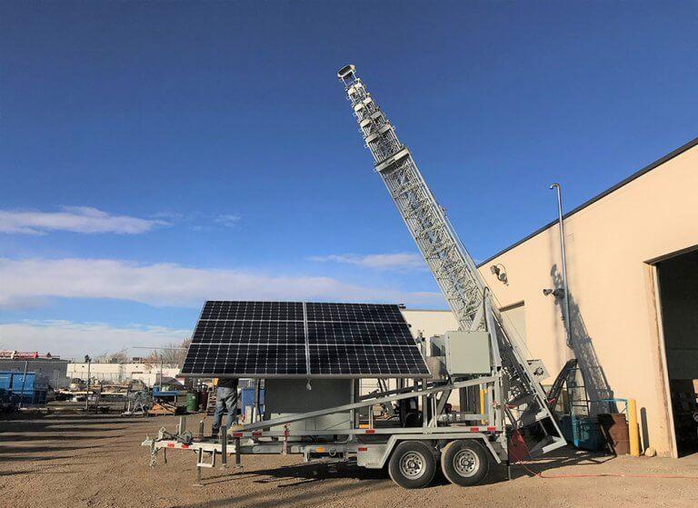 Custom Solution Simark Solar Cabinet Efoy
