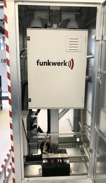 Funkwerk Mobile Kamerastation Brennstoffzelle