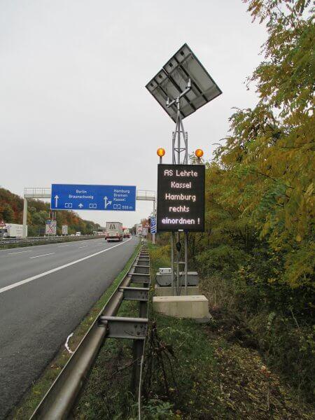 Greenway Systems Strassenverkehrstechnik Stromversorgung