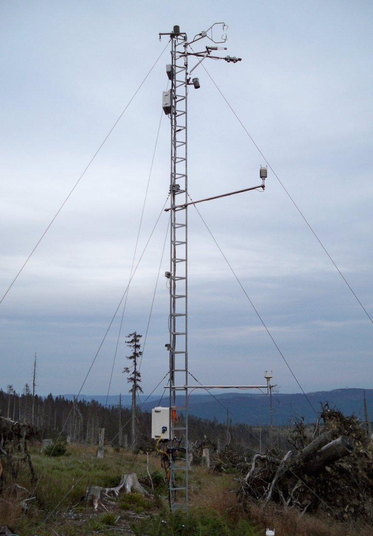 Messstation Bayerischer Wald Kit Institut Meterologie Klimaforschung Karlsruhe