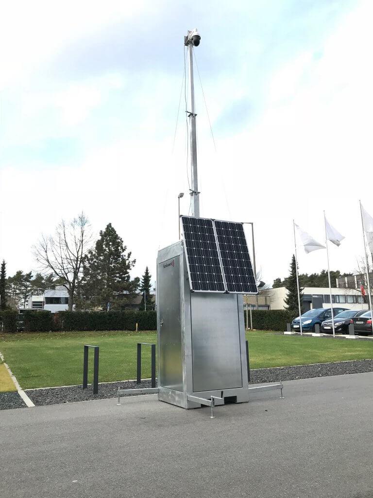 Mobile Kamerastation Pv Lte Funkwerk