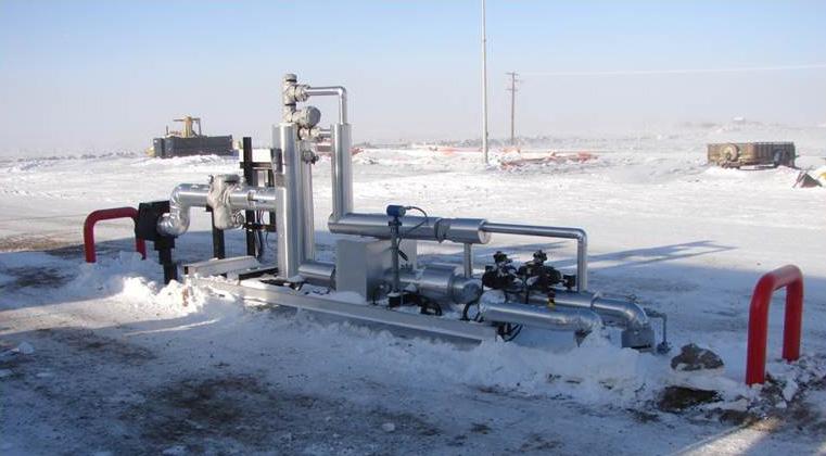 Pipeline Sicherheit öl Gas Winter