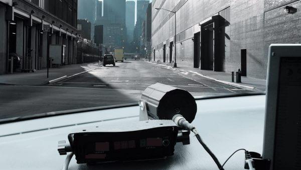 Sicherheit Mobile Ueberwachung Strasse Autos