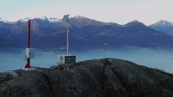Solarzelle Berge Efoy Cube Messstation