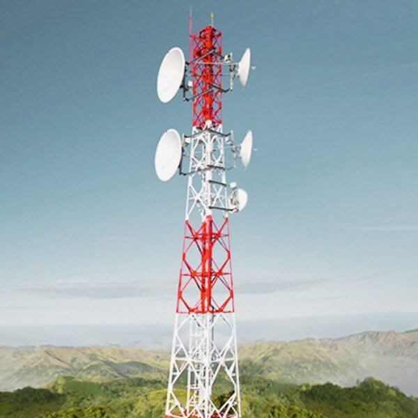 Telekommunikation Landschaft Mast