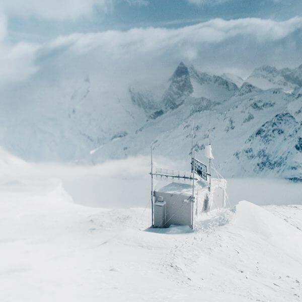 Umwelttechnologie Eis Schnee Berge Landschaft