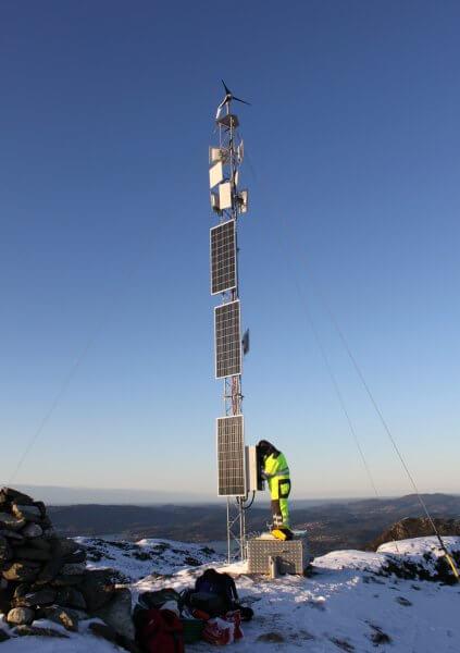 Unabhaengige Stromversorgung Breitbandtelekommunikation