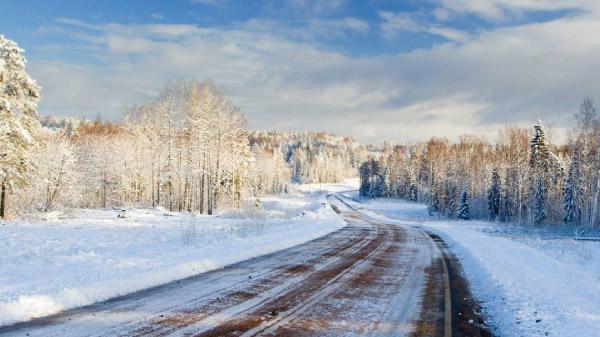 Verkehrstechnik Strassen Wetter Melder Schnee Winter