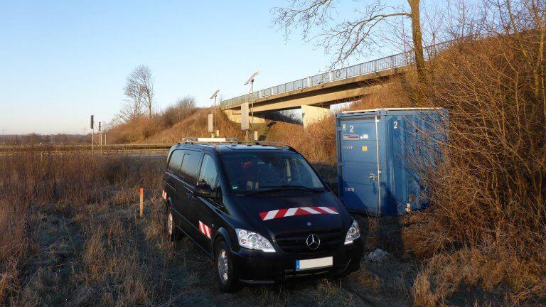 Verkehrszaehlung Stromversorgung Ms Service 16 9 3