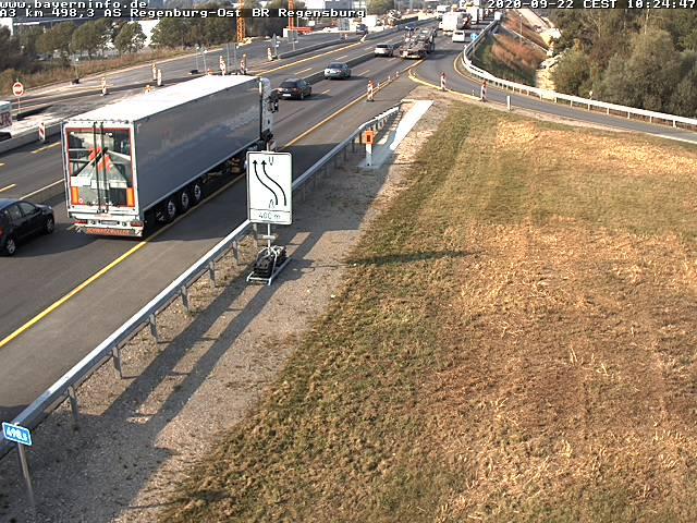 Webcam A8 Bayerische Strassenbauverwaltung